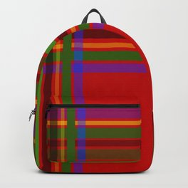 Holiday Tartan - DOUBLE Backpack