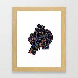 Kyoko Framed Art Print