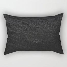 Black Slate Rectangular Pillow