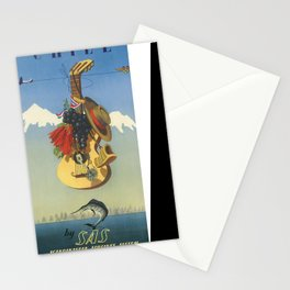 Vintage poster - Chile Stationery Cards