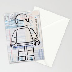 Multiple Choice - Lost & Found Series Stationery Cards