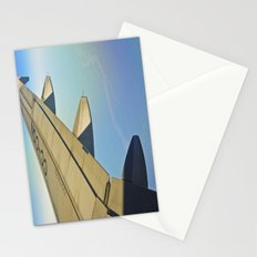 Between clouds, air and earth. Stationery Cards