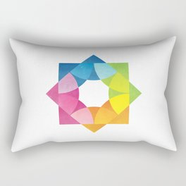 Blending Logo Rectangular Pillow