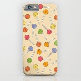 Happy Lollipops Sugar Candy iPhone Case