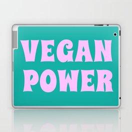 Vegan Power Vegetarian Workout Graphics Laptop & iPad Skin
