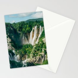 Plitvice Lakes Stationery Cards
