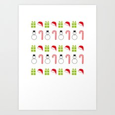 Christmas Icons Art Print