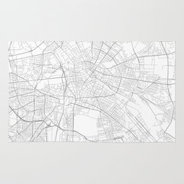 Berlin, Germany Minimalist Map Rug