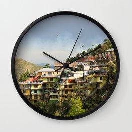 MCleod Ganj - India Wall Clock
