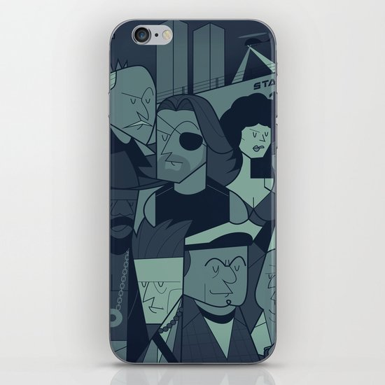 ESCAPE FROM NEW YORK iPhone & iPod Skin