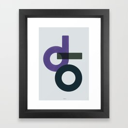 Domio Watercolor III Framed Art Print
