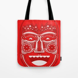 Red Is Mad Tote Bag