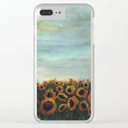 Gentle Nature Clear iPhone Case