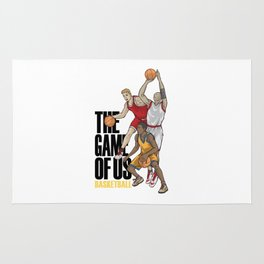 Basketball The Game Of Us Basket Ball Sport Team Gift Rug