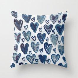 Hearts aplenty. Throw Pillow