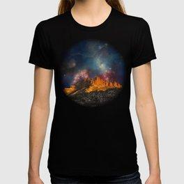 Sacred Mountains 2 (galaxy sky) T-shirt