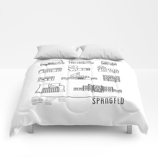 SPRNGFLD Comforters