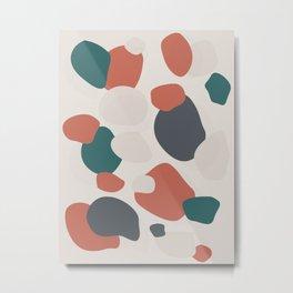 Stone Pattern Metal Print