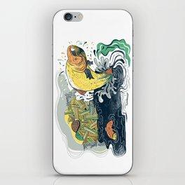 Salmon Jumping iPhone Skin