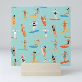 Mermaids Mini Art Print