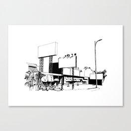 Vietnamese roadside Canvas Print