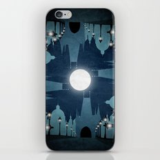 prague city iPhone & iPod Skin