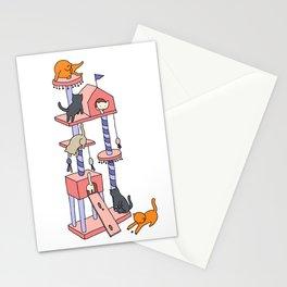 Cat Tree Stationery Cards