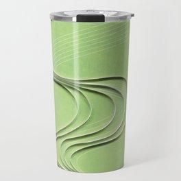 Pipe paper art print Travel Mug
