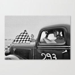 Pendine Sands 33s Canvas Print