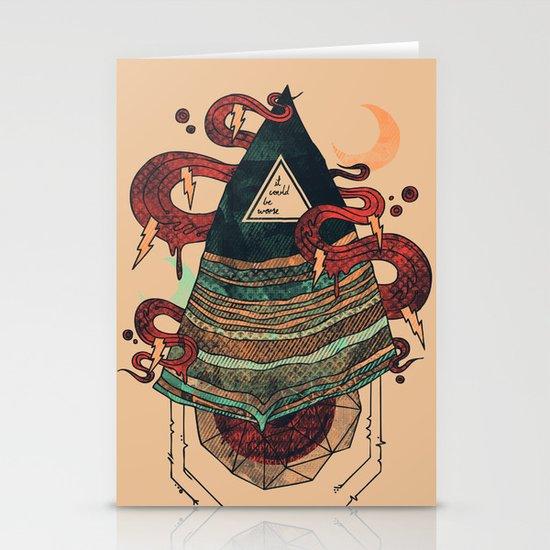 Positive Thinking Stationery Cards