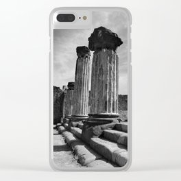 Pompeii - A City Uncovered - 2 Clear iPhone Case