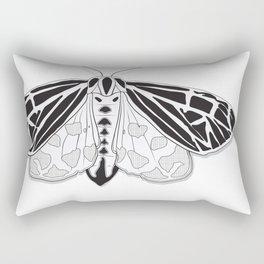 Virgin Tiger Moth Rectangular Pillow