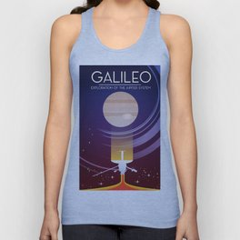 Galileo - Exploration of the Jupiter system Unisex Tank Top