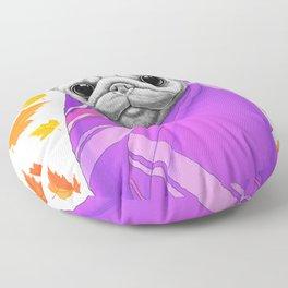 Autumn Pug Floor Pillow