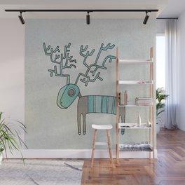 Lost Reindeer Wall Mural