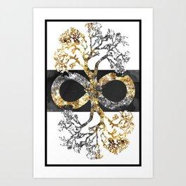 Infinity Tree Art Print
