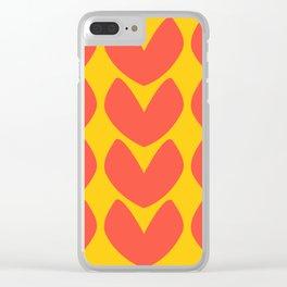Heartfelt #2 Clear iPhone Case