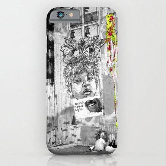 Truth Lies iPhone & iPod Case