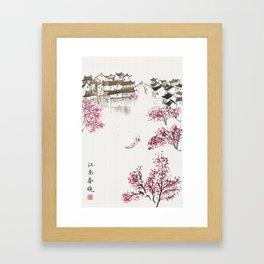 Spring Blossom Framed Art Print