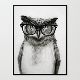 Mr. Owl Canvas Print