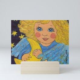Good Night Angel Mini Art Print
