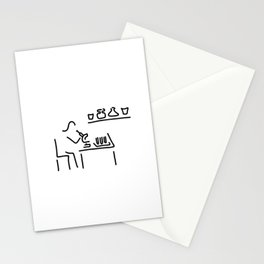 laboratory assistant lab Stationery Cards