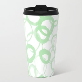 Watercolor Circle Sage Travel Mug
