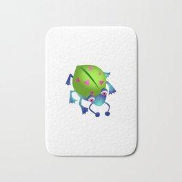 Green Bug Bath Mat