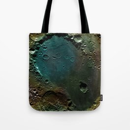 The Dark Side Of The Moon color (Mare Moscoviense) Tote Bag