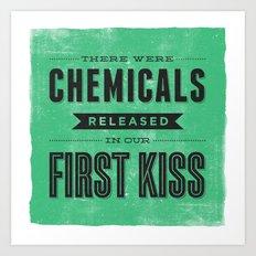 Chemicals Art Print