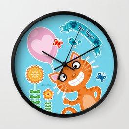 Leo Tiger  No.1 Wall Clock