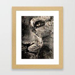 Details Framed Art Print
