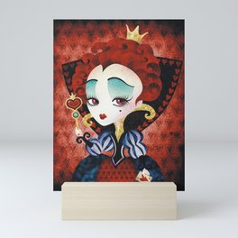 Queen of Hearts Mini Art Print