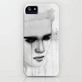 hurt lover iPhone Case